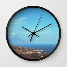 Beautiful Greece Wall Clock