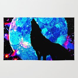 Wolf #1 Rug