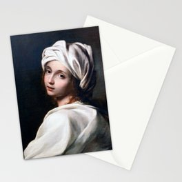 Guido Reni - Portrait of Beatrice Cenci Stationery Cards