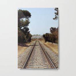 Tracks......... Metal Print