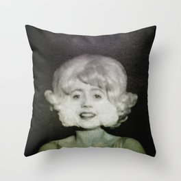 In Heaven Everything is Fine - Eraserhead Throw Pillow