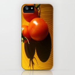 Abstract Tomato iPhone Case