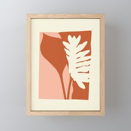 Botanical Love Framed Mini Art Print
