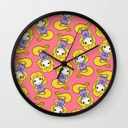 pin y pon raspunzel Wall Clock