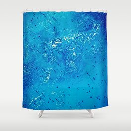 iDeal - Ice Blue Shower Curtain