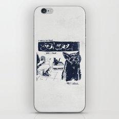 I Watch You Poop... and I Judge iPhone & iPod Skin