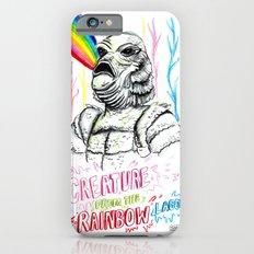 Creature from the rainbow lagoon iPhone 6s Slim Case