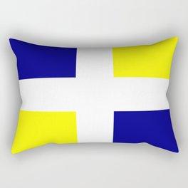 Flag of old louisiana Rectangular Pillow