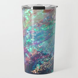 Prismatic Iridescent Cellophane VII Travel Mug
