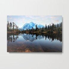 Mt Shuksan Metal Print