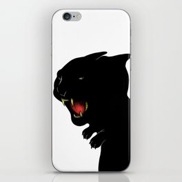 THE BLACK PANTHER iPhone Skin