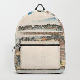 View of Azuma Wood Backpack