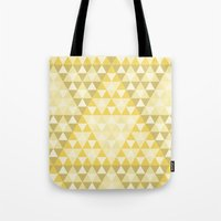 triforce Tote Bags featuring Triforce by Gavin Guidry