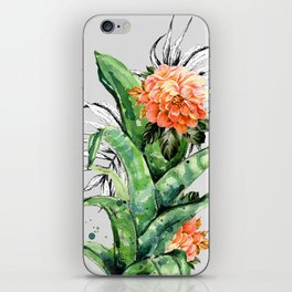 Collage of florid nature iPhone Skin