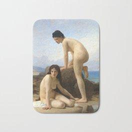 "William-Adolphe Bouguereau ""The Bathers"" Bath Mat"
