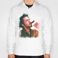 robert downey jr Hoodies featuring Mr Downey, Jr. by Thubakabra
