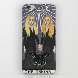 The Twins iPhone Skin