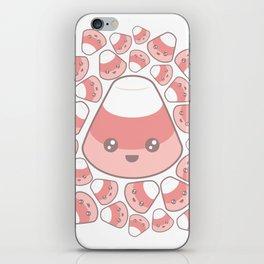 Kawaii Strawberry Candy Corn iPhone Skin