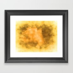 A Cloud Burst of Special Effects Framed Art Print