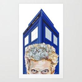 Twelfth Doctor Who Art Print