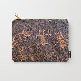 Desert Rock Art - Petroglyphs I Carry-All Pouch