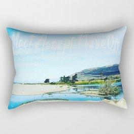 Reflect Accept MoveOn Rectangular Pillow