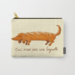 This is not a baguette Carry-All Pouch