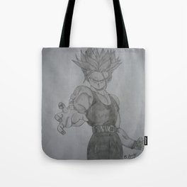 Dragonball Z Trunks Sketch Tote Bag