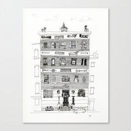10th street 2 Canvas Print