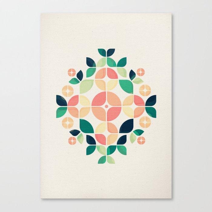 The Bouquet Canvas Print