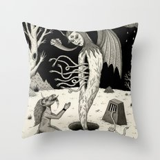 Arisen Throw Pillow