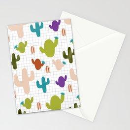 Cactus orange and green #homedecor Stationery Cards