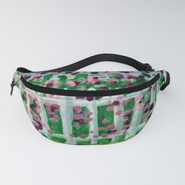 Rose Covered Picket Fence Fanny Pack