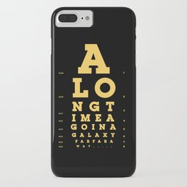 Jed Eye Chart iPhone Case