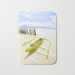 Boracay Sunshine Boat Bath Mat