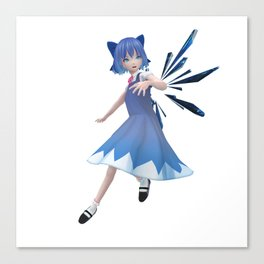 Anime Cirno Canvas Print
