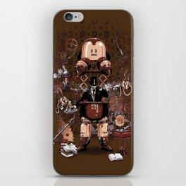Iron gentleman iPhone Skin