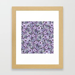 FLOWERS WATERCOLOR 24 Framed Art Print
