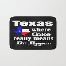 Texas Cola Bath Mat