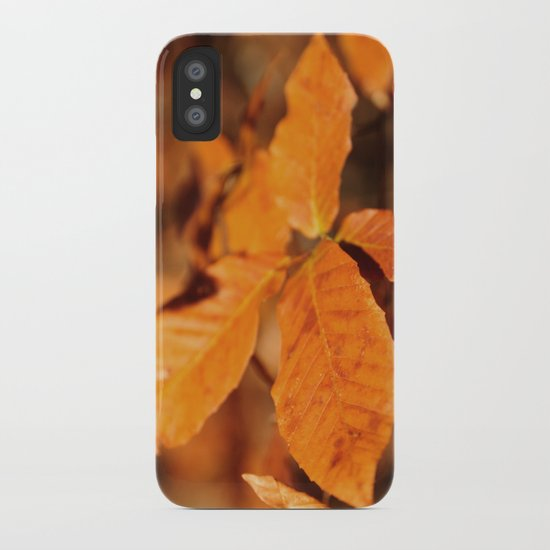Autumn Leaves iPhone Case