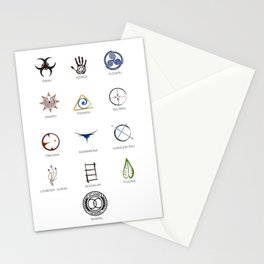 The 100 - 13 Clans Stationery Cards