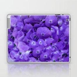 Amethyst  Hydrangea Flowers Garden Art Laptop & iPad Skin
