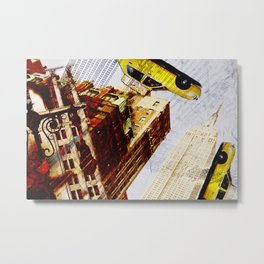Empire State building - not so tall Metal Print