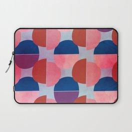 Geometric Abstract Half Round Pattern Laptop Sleeve
