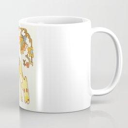 Elefant and Camel Coffee Mug