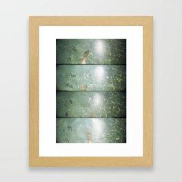 super sampled: water Framed Art Print