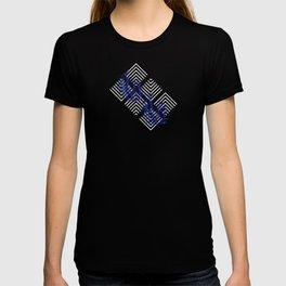 Geometries & Blue Palms #society6 #decor #buyart T-shirt