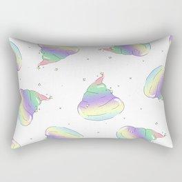 Glamorous Poop Rectangular Pillow