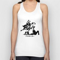 asian Tank Tops featuring Asian Hunter by アジアのハンター