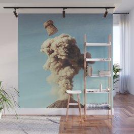 Volcanic Pop Wall Mural